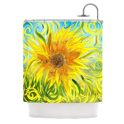 Syaured by Catherine Holcombe Shower Curtain