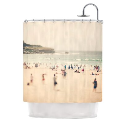 Bondi Beach by Catherine McDonald Coastal People Shower Curtain