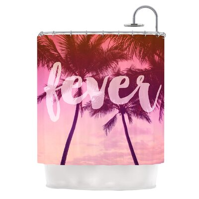 Fever by Catherine McDonald Shower Curtain