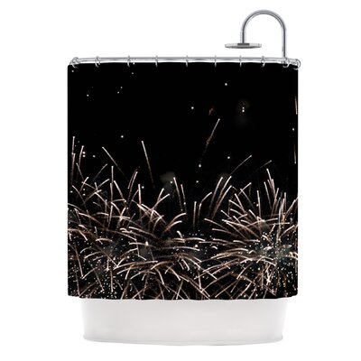 Fireworks by Catherine McDonald Shower Curtain