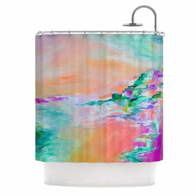 Something About the Sea 4 by Ebi Emporium Shower Curtain