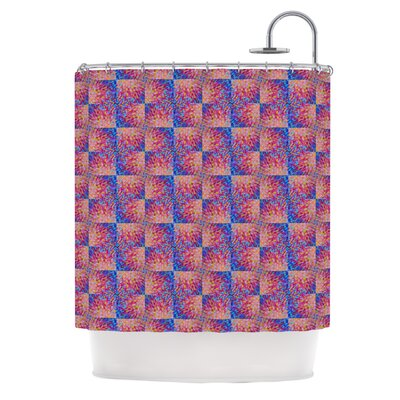 Splash Revisited by Ebi Emporium Shower Curtain