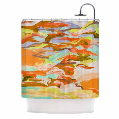 Still Up In The Air 5 by Ebi Emporium Shower Curtain