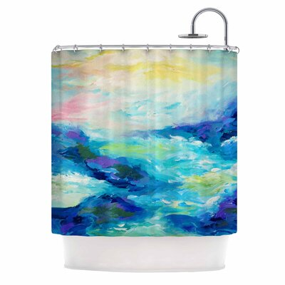 Taken By The Undertow by Ebi Emporium Shower Curtain