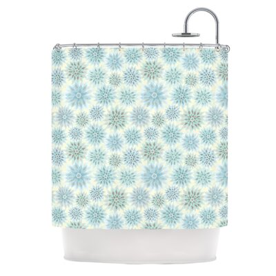 My Delicate Flowers by Julia Grifol Shower Curtain