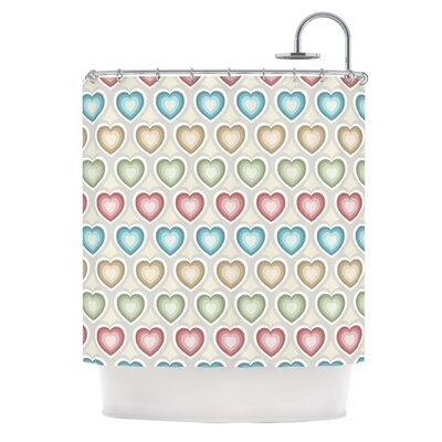 My Hearts by Julia Grifol Shower Curtain
