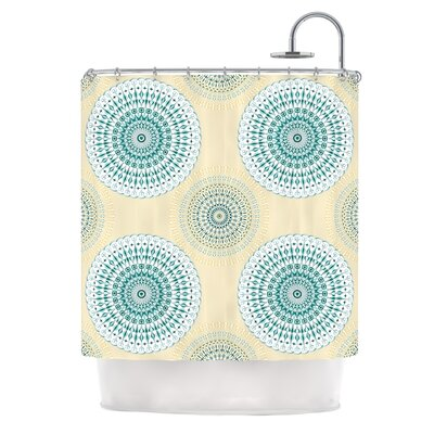 Soft Mandalas by Julia Grifol Shower Curtain