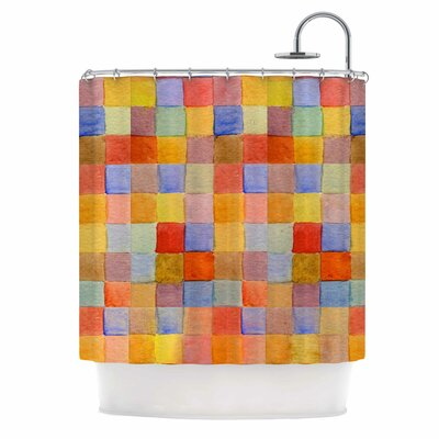 Rainbow Mozaic by Marianna Tankelevich Shower Curtain