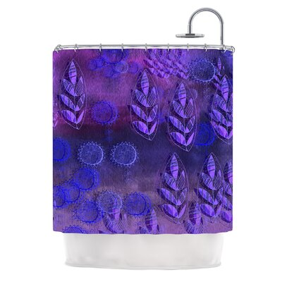 Summer Night by Marianna Tankelevich Shower Curtain Color: Purple