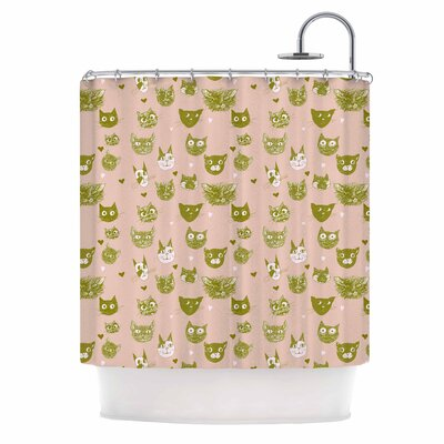 Vintage Cats by Marianna Tankelevich Shower Curtain