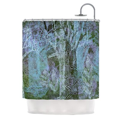 Wild Forest by Marianna Tankelevich Trees Shower Curtain