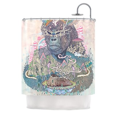 Ceremony by Mat Miller Fantasy Gorilla Shower Curtain