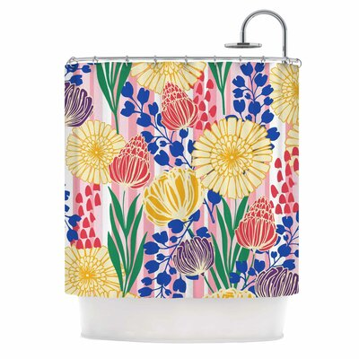 Pretty Bouquet by Amy Reber Floral Shower Curtain