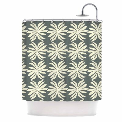 Palm by Amy Reber Shower Curtain