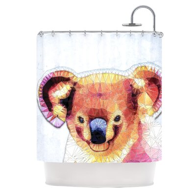 Cute Koala by Ancello Shower Curtain