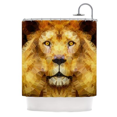 Lion King by Ancello Shower Curtain