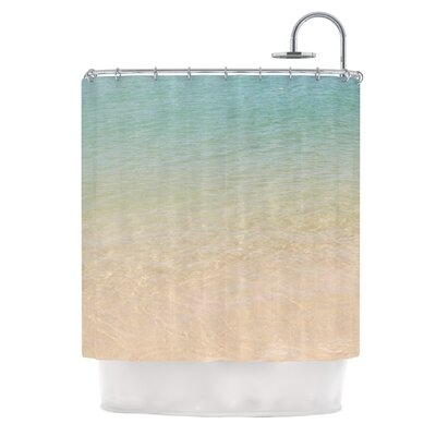 Ombre Sea by Catherine McDonald Beach Photography Shower Curtain