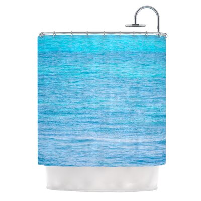 South Pacific II by Catherine McDonald Ocean Water Shower Curtain