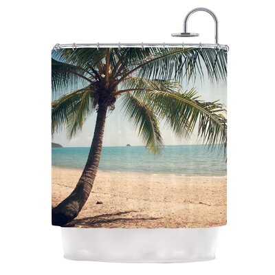Tropic of Capricorn by Catherine McDonald Ocean Photography Shower Curtain
