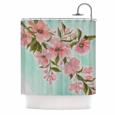 Chieko by Christen Treat Shower Curtain
