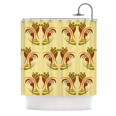 Curvaceous by Dan Sekanwagi Shower Curtain