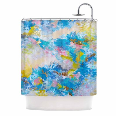 When We Were Mermaids by Ebi Emporium Shower Curtain