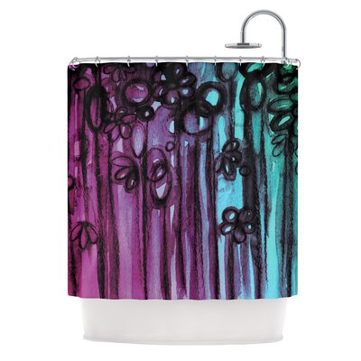 Winter Garden by Ebi Emporium Shower Curtain