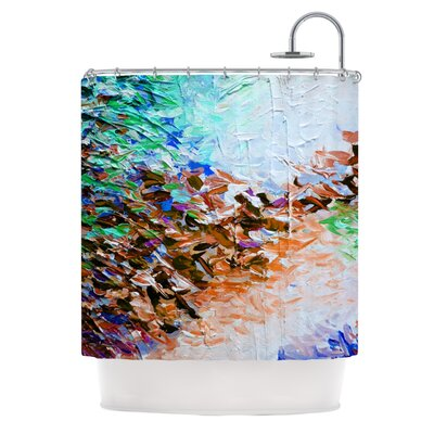 Winter Retreat by Ebi Emporium Shower Curtain