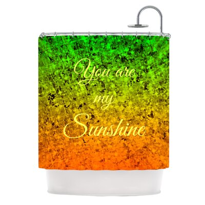 You Are My Sunshine by Ebi Emporium Shower Curtain