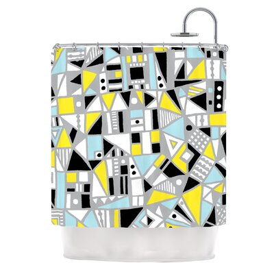 Fun Geo Too by Emine Ortega Shower Curtain