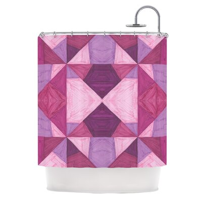 Angles by Empire Ruhl Geometric Shower Curtain