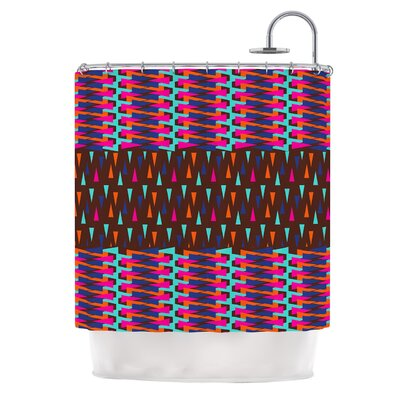 Abstract Triangle by Famenxt Shower Curtain