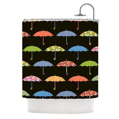 Umbrella by Heidi Jennings Shower Curtain