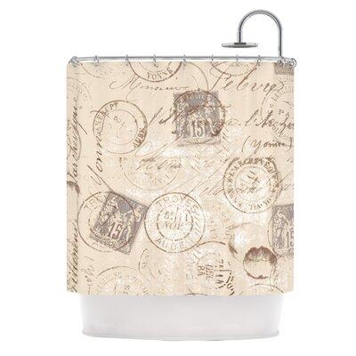 World Traveler by Heidi Jennings Shower Curtain