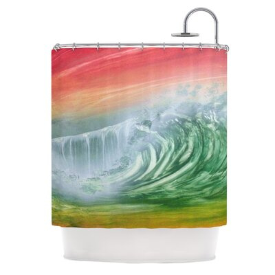 Cant Get Enough by Infinite Spray Art Shower Curtain