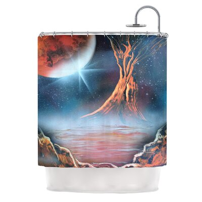 Embark by Infinite Spray Art Nature Shower Curtain