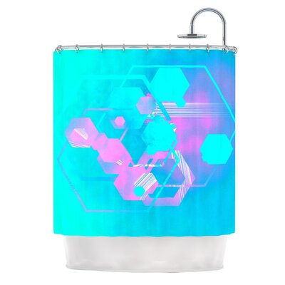 Emersion by Infinite Spray Art Shower Curtain