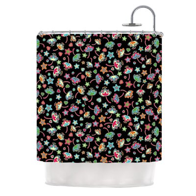 Sweet Flowers by Julia Grifol Shower Curtain
