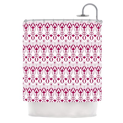Warm Deco by Julia Grifol Shower Curtain