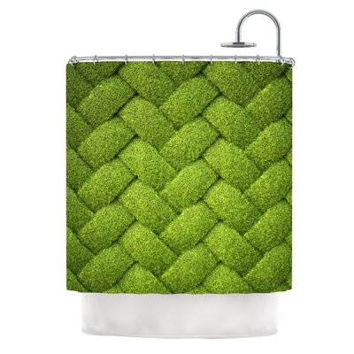 Ivy Basket by Susan Sanders Weave Shower Curtain