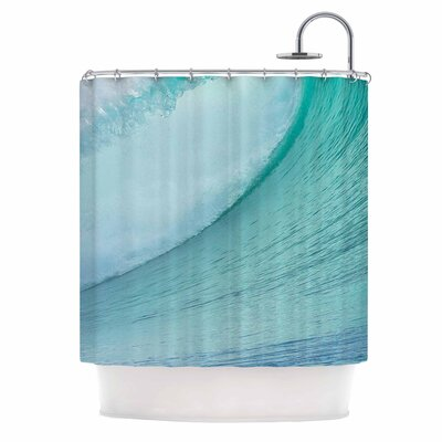 Ocean Wave by Susan Sanders Shower Curtain