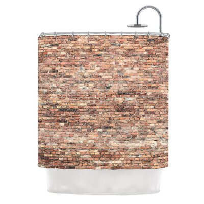 Rustic Bricks by Susan Sanders Shower Curtain