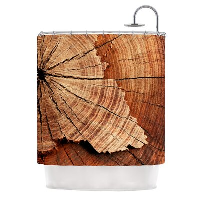 Rustic Dream by Susan Sanders Wood Shower Curtain