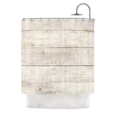 Wash Wood by Susan Sanders Shower Curtain