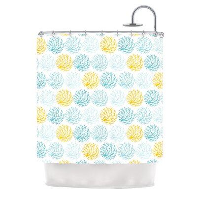 Coralina by Anchobee Shower Curtain