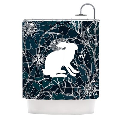 Hare by Anchobee Shower Curtain