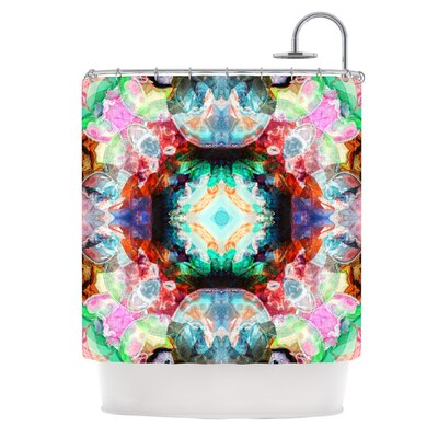 Achat II by Danii Pollehn Shower Curtain