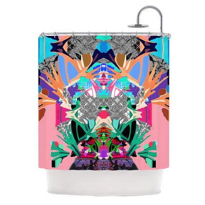 Japanese Rorschach by Danii Pollehn Shower Curtain