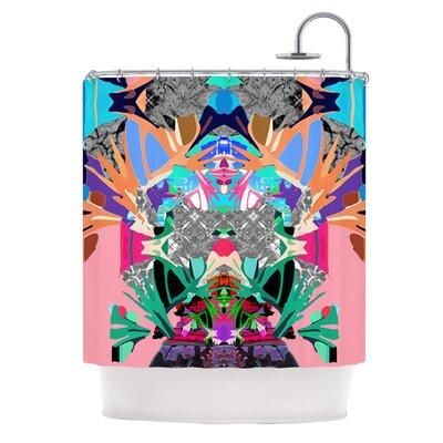 Japanese Rorschach by Danii Pollehn Shower Curtain