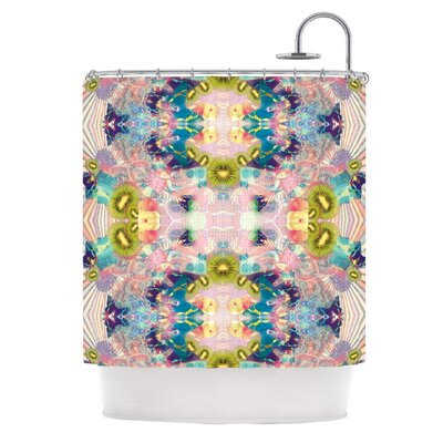 Kaleidoscope by Danii Pollehn Shower Curtain
